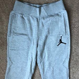 Light grey Jordan sweatpants